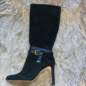 Antonio Melani Black Heeled Boots